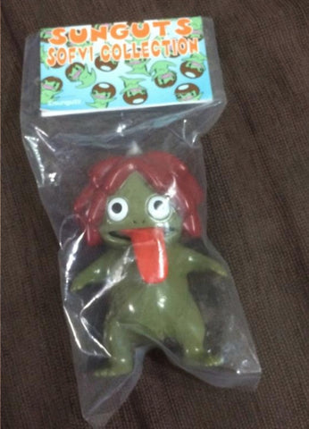 "Sunguts Uraname Olive Body Brown Hair Ver 4"" Vinyl Figure"