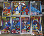 Bandai Super Robot Battle XX-01~08 8 Action Figure Set