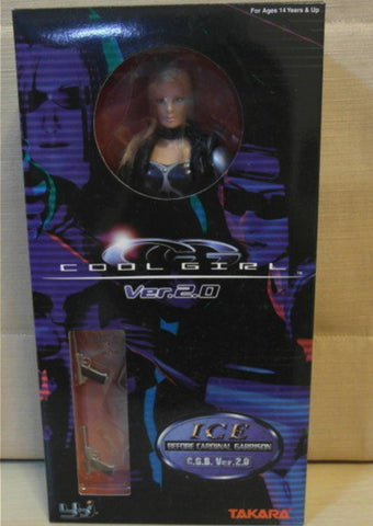 "Takara 1/6 12"" Best Of Cool Girl CG 2.0 Ice Action Figure Used"