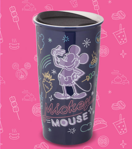 Disney 90th Anniversary Family Mart Limited Mickey Mouse Ceramics Cup