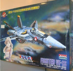 ARII 1/100 Robotech Macross Real Type Series No 10 Fighter VF-1S Plastic Model Kit Figure