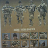 "Hot Toys 1/6 12"" USMC Sniper Desert Tiger Bdu Ver Action Figure"