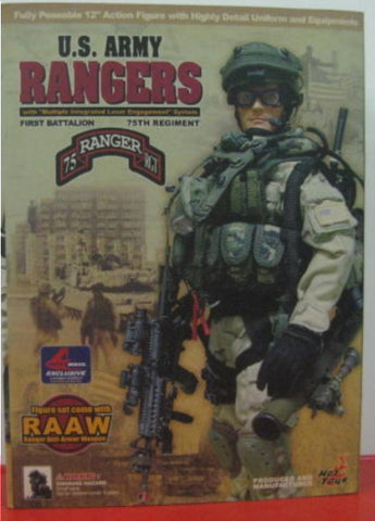 "Hot Toys 1/6 12"" U.S. Army Rangers Action Figure Type A"