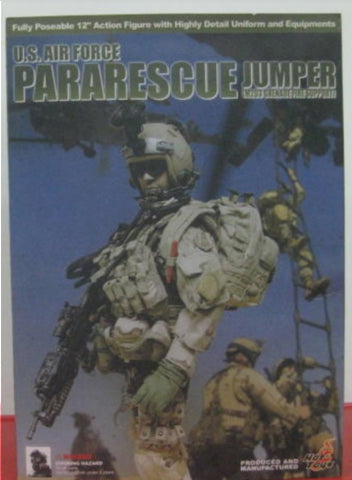 "Hot Toys 1/6 12"" U.S. Air Force Pararescue Jumper Action Figure"