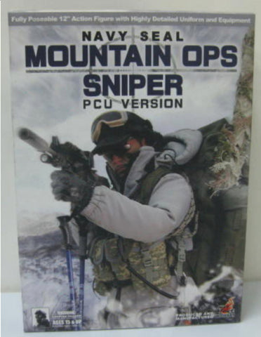 "Hot Toys 1/6 12"" Navy Seal MOuntain Ops Sniper PCU Ver Action Figure"