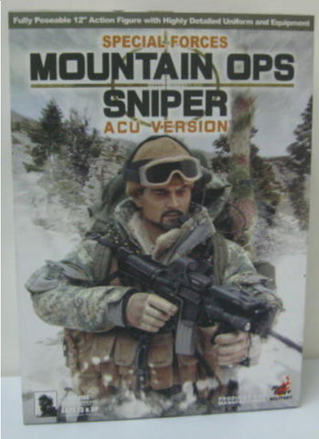 "Hot Toys 1/6 12"" Navy Seal MOuntain Ops Sniper ACU Ver Action Figure"