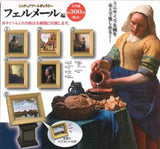 Yell Gashapon Miniature Art Gallery Vermeer Ver 5 Collection Figure Set