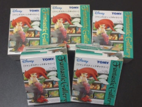 Tomy Disney Fantastic Gallery Part 1 5 Trading Figure Set