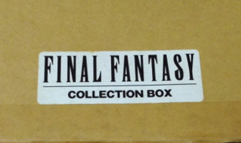 Square Enix Final Fantasy Chrome 20 Metal Mini Trading Figure Set w/ Collection Box Used
