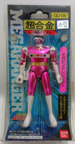 Bandai Power Rangers In Space Megaranger Chogokin GD-08 Mega Pink Action Figure