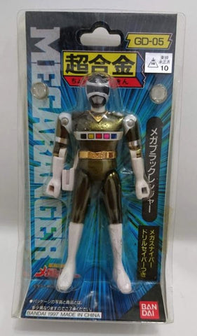Bandai Power Rangers In Space Megaranger Chogokin GD-05 Mega Black Action Figure