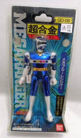 Bandai Power Rangers In Space Megaranger Chogokin GD-06 Mega Blue Action Figure