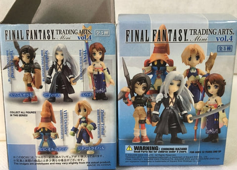 Square Enix Final Fantasy Trading Arts Mini Vol 4 5 Collection Figure Set Used