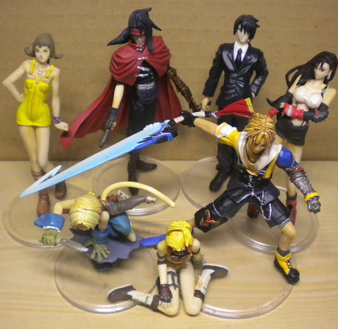 Square Enix Final Fantasy Trading Arts Vol 2 6+1 Secret 7 Collection Figure Set Used