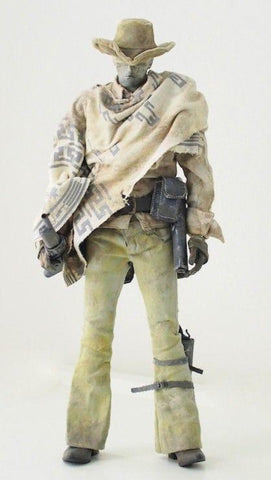 "ThreeA 3A Toys 1/6 12"" Ashley Wood Blind Cowboy White Ver Action Figure Used"