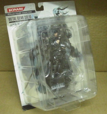 Konami Metal Gear Solid 2 Konami Collection Iroquois Pliskin Trading Figure