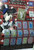 Takara Tomy Disney Gashapon Characters Playing Card Charm 14 Mascot Strap Trading Figure Set