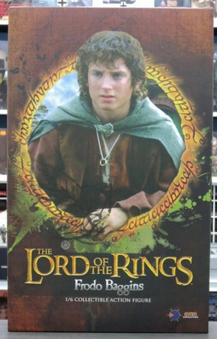 "Asmus Toys 1/6 12"" LOTR015S Heroes of Middle-Earth The Lord Of The Rings Frodo Baggins Upgrade Expansion Action Figure Used"