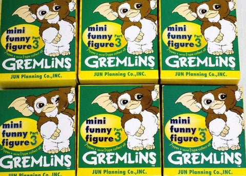 "Jun Planning Gremlins Mini Funny Part 3 Gizmo 7 3"" Trading Figure Set"