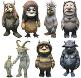 Medicom Toy VCD Vinyl Collectible Dolls Where The Wild Things Are 7 Figure Set