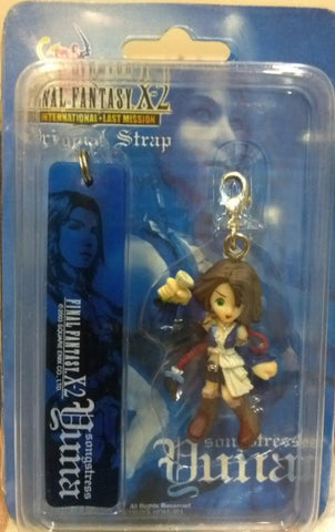 Square Enix Final Fantasy 10 X-2 Yuna Phone Strap Mascot Trading Figure Type A