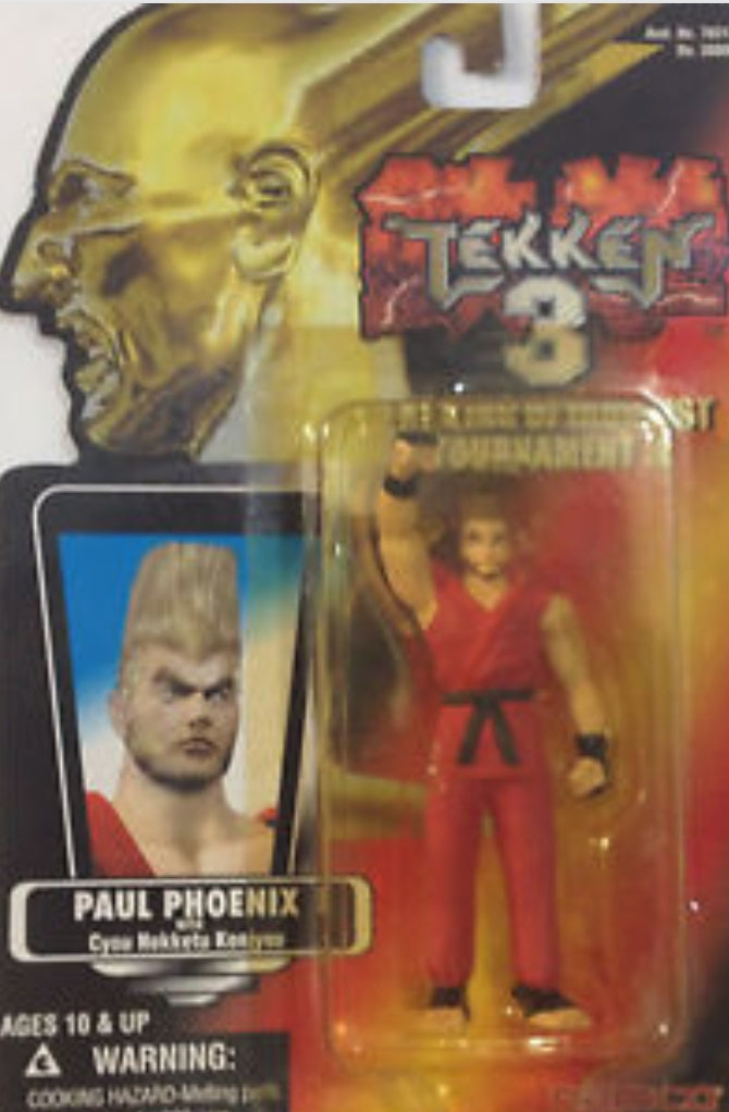 Namco Tekken 3 The King of Iron Fist Tournament 3 Paul Phoenix Action Figure
