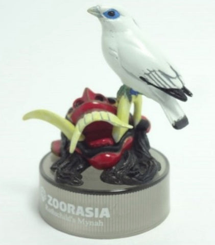 Kaiyodo Zoorasia Lunch Jungle Cracker No 5 Long Crown Starling Bottle Cap Trading Figure