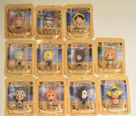 Megahouse One Piece Chara Fortune 11 Mascot Strap Trading Figure Set