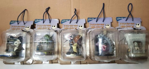 Sega Prize Tim Burton The Nightmare Before Christmas 5 Mini Trading Figure Set