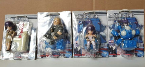 Sega Ghost In The Shell Stand Alone Complex Mini Display Vol 2 4 Trading Figure Set