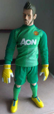 "ZCWO 12"" 1/6 Manchester United David De Gea Quintana Action Figure Used"
