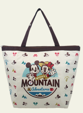 "Disney Moutain Hike Mickey Mouse Taiwan 7-11 Limited 18"" 18L Cold Tote Bag Type C"