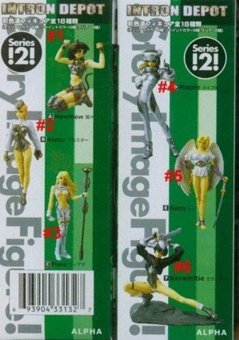Yamato SIF Story Image Intron Depot Series 2 Crystal Color ver 6 Trading Figure Set