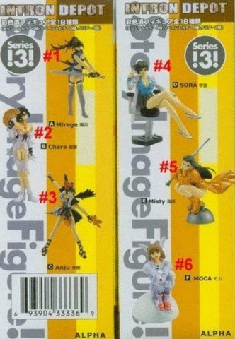 Yamato SIF Story Image Intron Depot Series 3 2P Color ver 6 Trading Figure Set