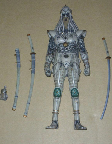 Toy Crowd Namco Mirai Cyber Future Ninja Movie Shouki Action Figure Used