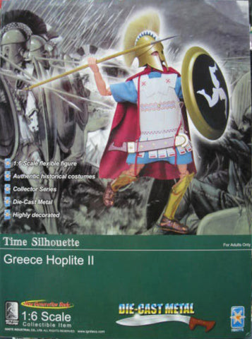 "Ignite 1/6 12"" Time Silhouette Greece Hoplite II Action Figure"