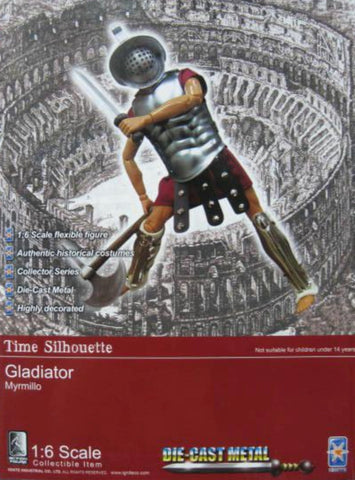 "Ignite 1/6 12"" Time Silhouette Gladiator Action Figure"
