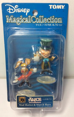 Tomy Disney Magical Collection 122 Alice In Wonderland Mad Hatter & March Hare Trading Figure