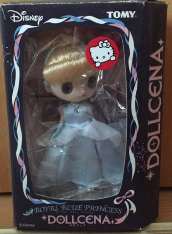 Tomy Dollcena Disney Royal Blue Princess Doll Figure