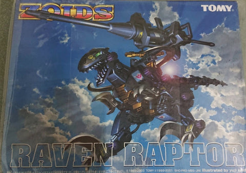Tomy Zoids 1/72 08 Reven Rapter Action Model Kit Figure