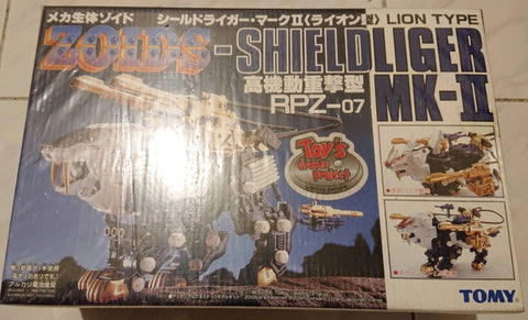 Tomy Zoids 1/72 RPZ-07 Shield Liger MK-II Lion Type Model Kit Action Figure