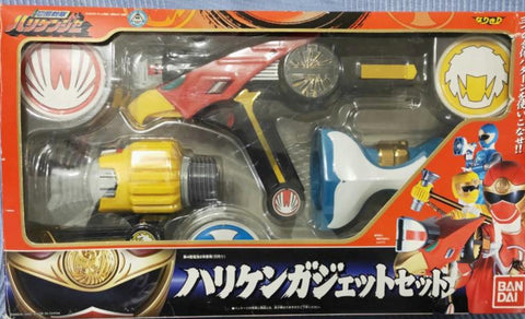 Bandai Power Rangers Hurricanger Ninja Storm DX Weapon Gun Figure Play Set