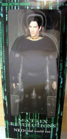 "Medicom Toys 1/6 12"" RAH Real Action Heroes Matrix Revolutions Neo Real World ver Collection Figure"