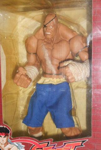 Sota Toys Street Fighter Capcom Sagat 1P ver Trading Collection Figure