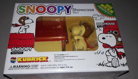 Medicom Toy Kubrick 100% Peanuts Snoopy & Woodstock Showcase Vol 2 Trading Figure