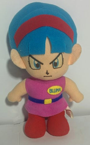 "Bandai 1992 Dragon Ball Z DBZ Bulma 5"" Plush Doll Figure"