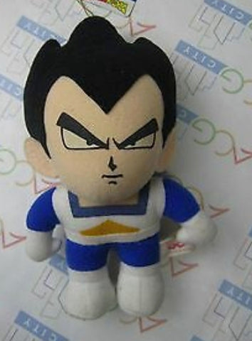 "Bandai 1992 Dragon Ball Z DBZ Vegeta 5"" Plush Doll Figure"