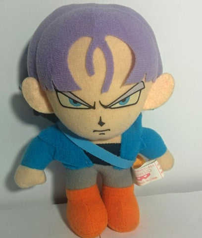 "Bandai 1992 Dragon Ball Z DBZ Trunks 5"" Plush Doll Figure"