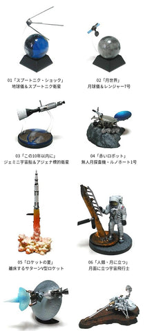 Kaiyodo Takara The Royal Museum Of Science Series 1 8 Figure Set