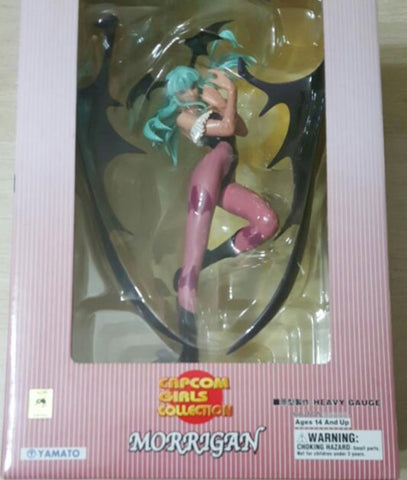 Yamato 1/8 Capcom Girls Collection Darkstalkers Vampire Savior Morrigan Green Ver Figure